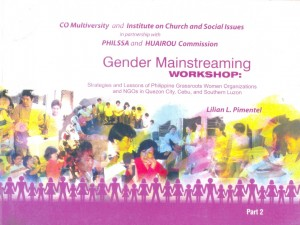 4-Mainstreaming Gender in Community Organizing P100.00