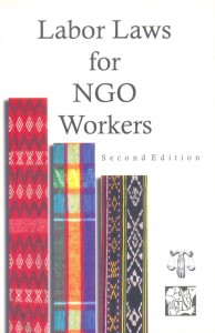 5-Labor Laws for NGO Workers P100.00