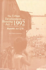6-The Urban Development and Housing Act of 1992 P80.00